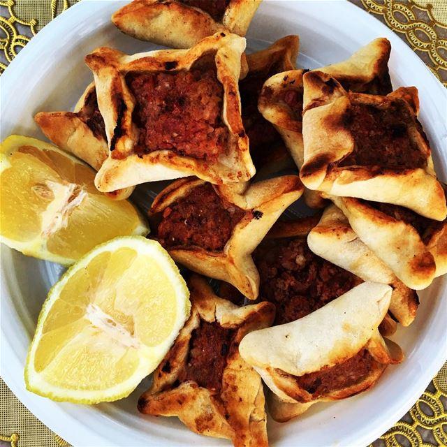 A proper Baalbecki lunch. baalbeck cityofthesun lebanon ... (Baalbeck, Béqaa, Lebanon)