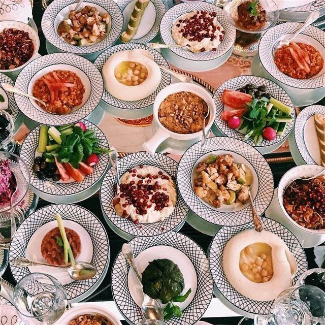 Lebanese Food. lebanesefood dubai restaurant emsharif presentation... (Em Sherif Dubai)