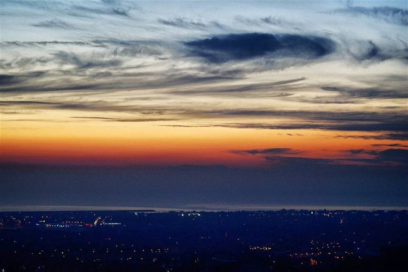H O M E ♡ wadishahrour viewfromhome bleibal sunset tb lebanon ... (Wadi Shuhrur, Mont-Liban, Lebanon)