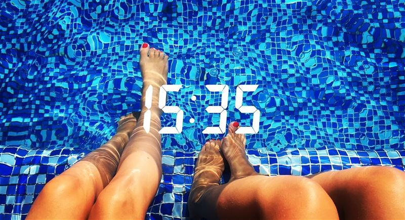 so it goes 💦🔥 pooltime beirut lebanon beirutinstyle littlesister havefun... (Four Seasons Hotel Beirut)