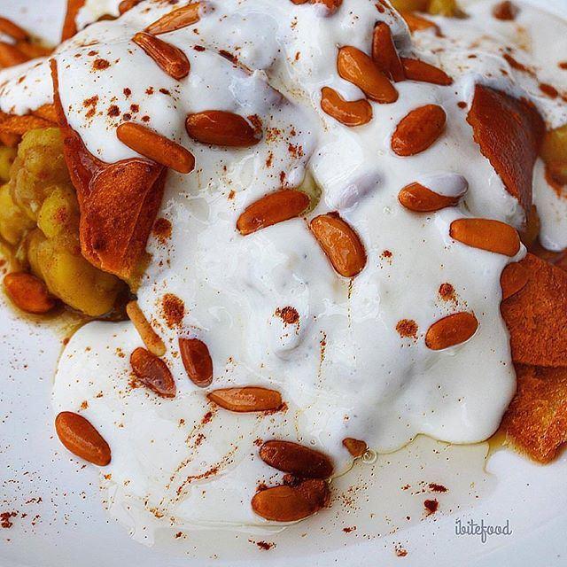 Lebanese fatté invading @livelovetheworld_ @livelove.food by @ibitefood (Washington, District of Columbia)
