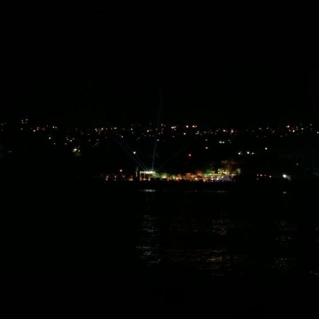 sailing night lights ...
