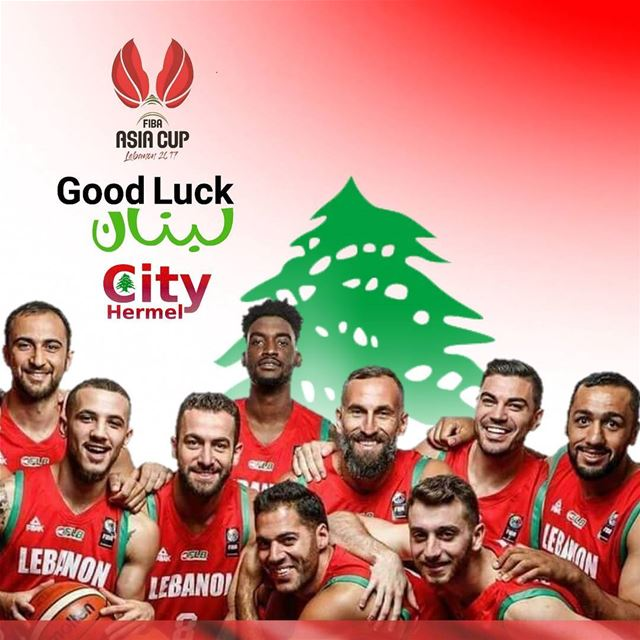 All the luck Lebanon! Fibaasiacup2017 Lebaneseteam instalebanon ...