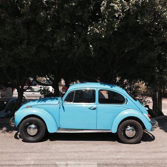 Blue beetle 🐞 Beirut iamatraveler shotoniphone vintage.....- [ ] ... (جونية - Jounieh)