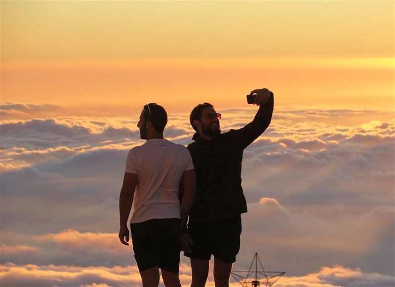 How about a Selfie above the clouds? Make sure to head to the mountains... (Mzaar Kfardebian)
