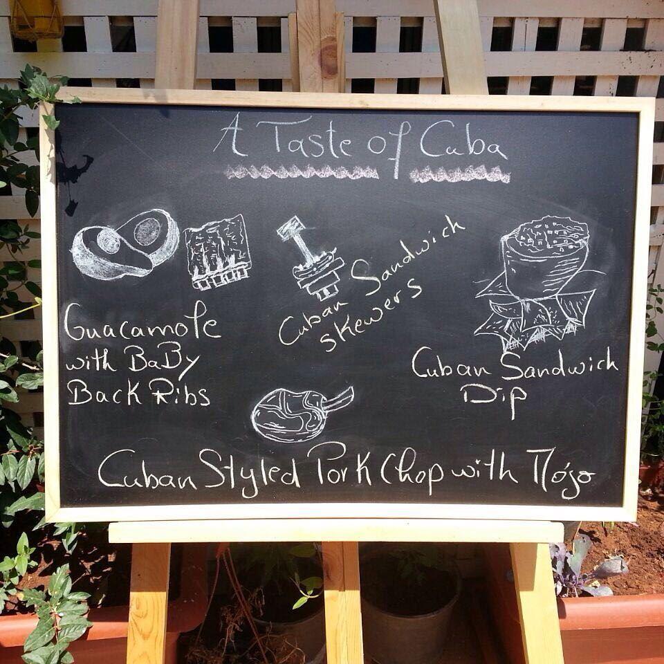 It's Tonight!! Em's giving you a taste of Cuba 😊 beirutfood ... (Em's cuisine)