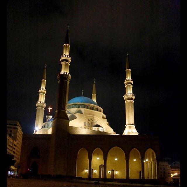 lebanon beirut livelovebeirut photography nightphotography ... (Downtown Beirut)
