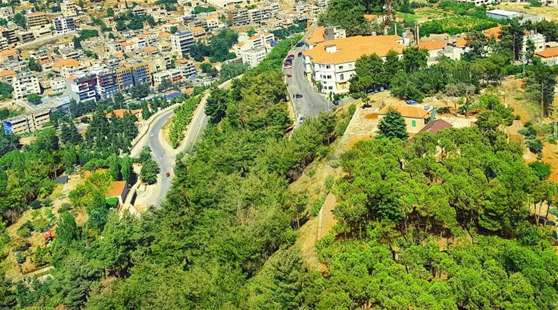 Sometimes it feels so good to say Yes I Did that! 😎🌲Flying over Zahle... (Zahlé District)