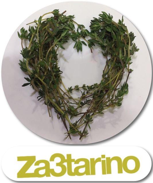 Za3tarino means Za'atar the Mediterranean herb Thyme an evergreen herb 🌿💚