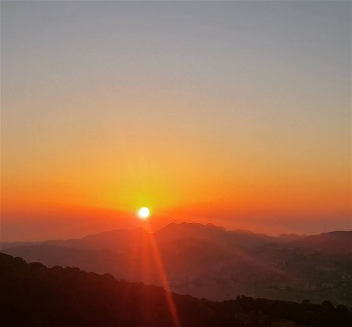 With every sunset, be proud of today's achievements, dream of tomorrow's... (AHLAM Golf & Mountain Village)