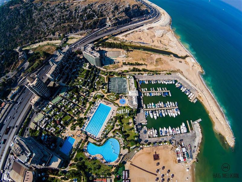 Morning from Above 🏖... Gopro GoproKarmaDrone KarmaDrone Mikesport... (Holiday Beach Resort)