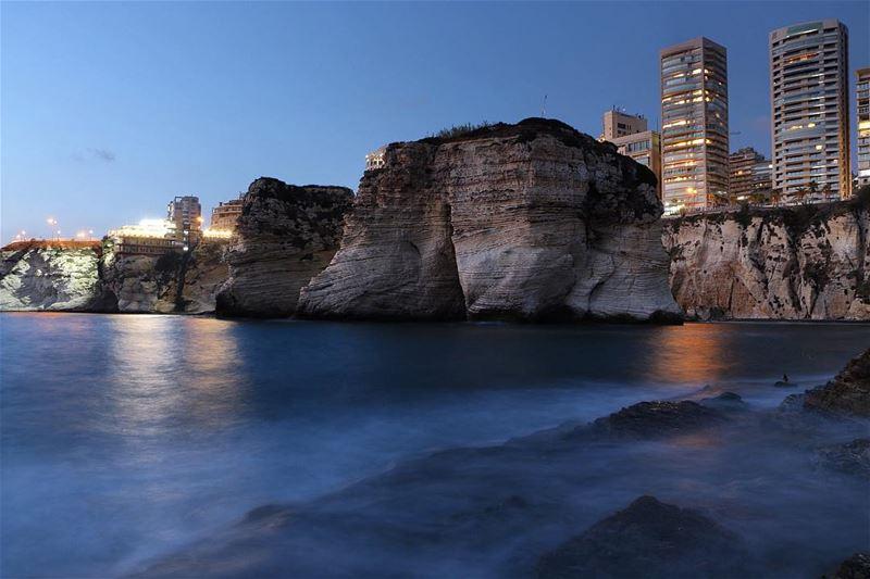🌃✨.... night nightphotography nightshot landscape... (Al Rawsheh, Beirut - Lebanon)