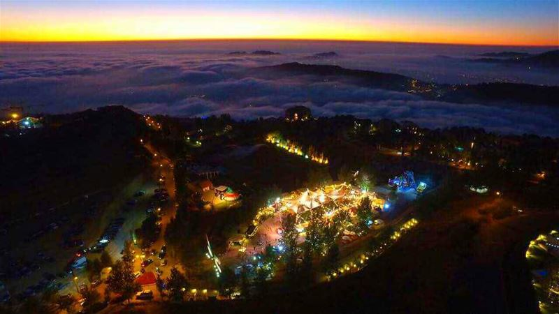 Above the clouds... faqrawonderflyAug 11-15 faqraclub summer ... (Faqra Club)