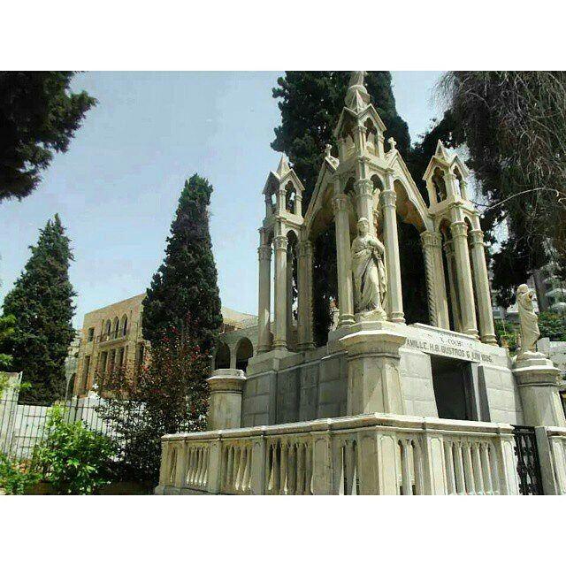 Mar Mitr - St.Dimitrios Greek Orthodox Cemetery 🌲 Achrafieh, Beirut 🌲❤🌲... (St. Dimitrios Achrafieh)