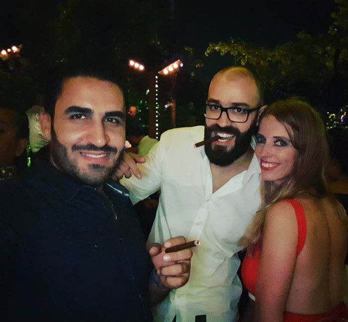 Our next bridegroom @alizassaf & Adrienne. Days remaining: 7 beirut ... (Seven Sisters Beirut)