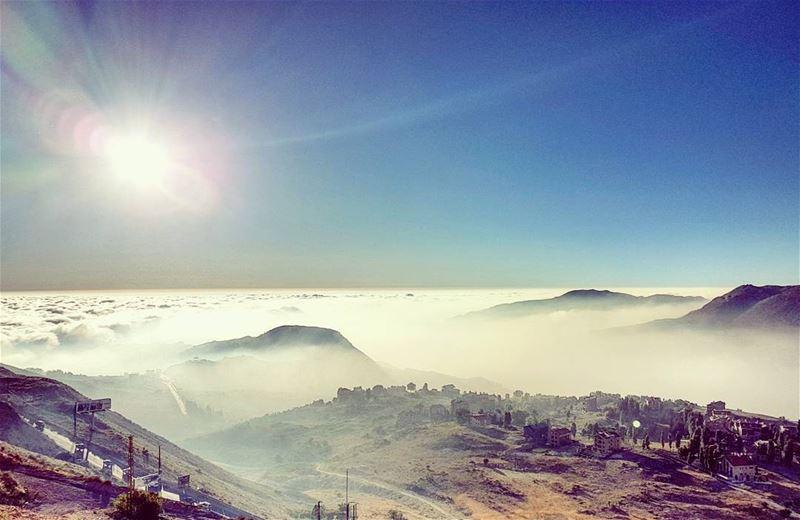 This Land anotherworld skyporn cloudporn kfardebian lebanon ... (Mzaar Kfardebian)