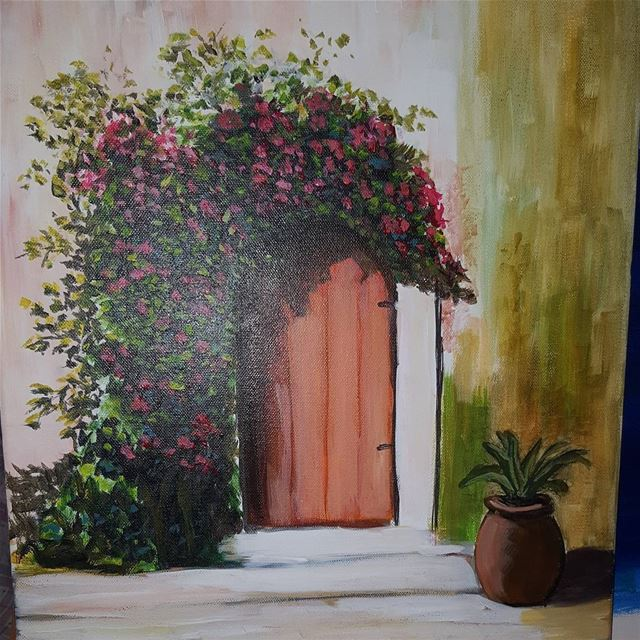 art artist painting artwork mywork livelovearts lebanon aley live life ... (Aley)