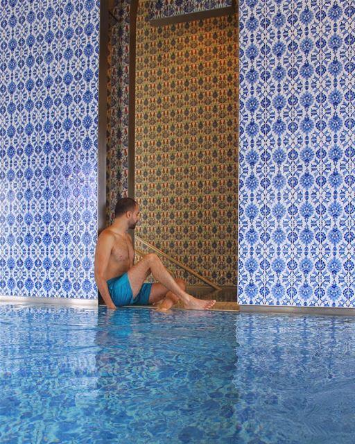 No not Marrakech, but @lespacealbustan 💙 Lebanon! 🇱🇧 (L'espace Al Bustan)