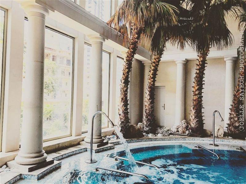 || R E L A X || ||R O Y A L || ||S P A || Vote for your best spa hotel ⬇️⬇️ (Phoenicia Hotel Beirut)