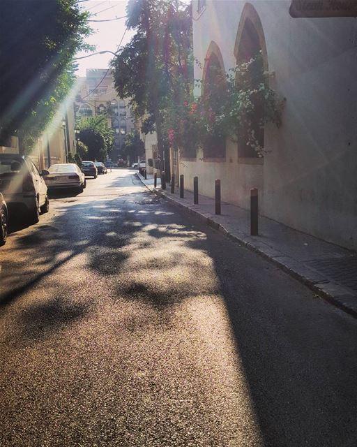 Saturday's ride..Beirut's streets ..🍃🌸🚲🍃.. .......... ..... (Achrafieh, Lebanon)