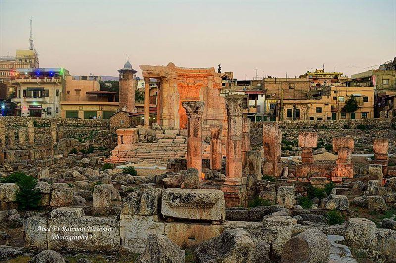 Baalbeck BaalbeckTemple Lebanon Lebanese BaalbeckNights RomanRuins ... (Baalbeck, Béqaa, Lebanon)