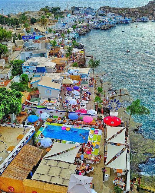 Anfeh Ta7t el Ri7 Beach in all its glory!By @nogarlicnoonions Anfeh ... (Ta7t El Ri7 - Anfeh)