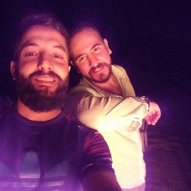 Hassoun 📷• hermel lebanon assiriver camping picofthenight night ... (El-hermel, assi river)