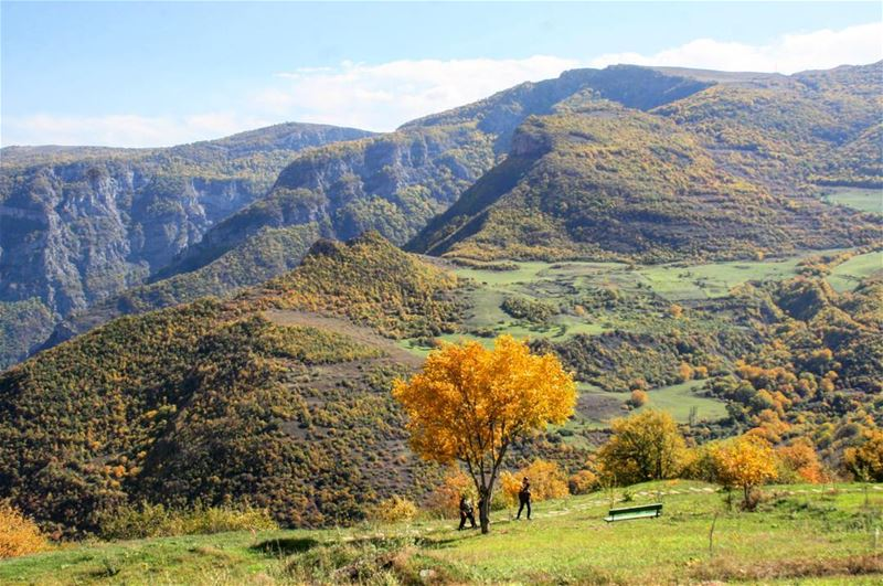 "Unbelievable fall colors ... ""Colorful Armenia Hiking Trip 29 Sep until 9..."