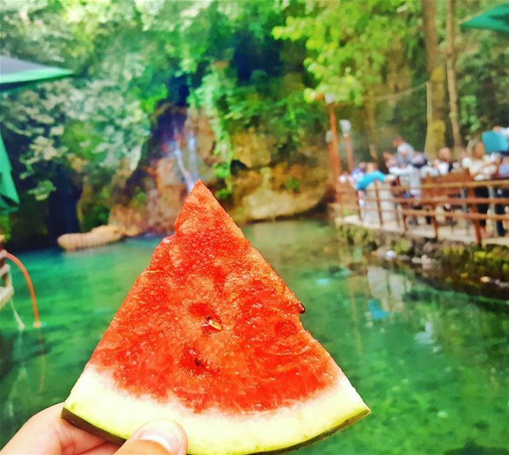 morning lebanon 🍉🍉 (Baakline River)