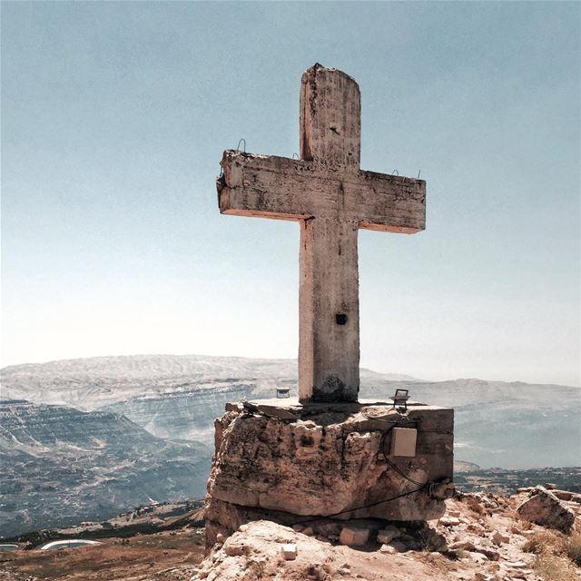 Above & Beyond 🙏🏻 Beirut nature earth outdoor shotoniphone.....- [... (Akoura, Mont-Liban, Lebanon)