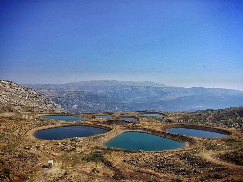 Akoura Lakes 🏞 (Akoura, Mont-Liban, Lebanon)