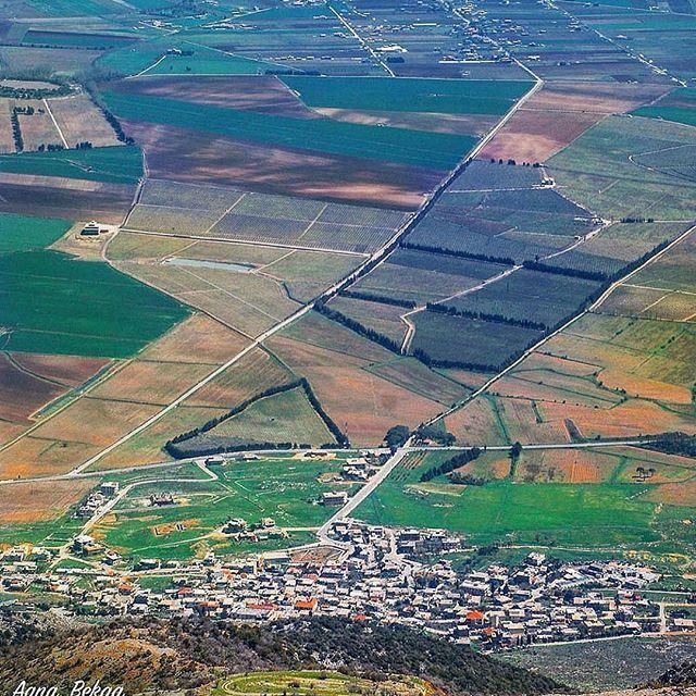 The land of plenty @livelovebekaa by @bilalkerbaj (Beka'a)