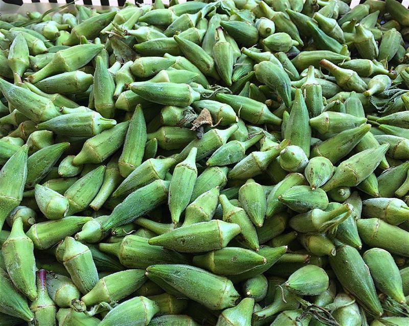 Okra-It contains potassium, vitamin B, vitamin C, folic acid, and calcium....