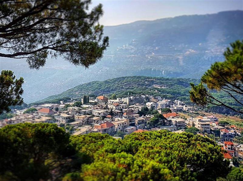 Afternoon in Heaven bzebdine paradise beautiful lebanese landscape ... (Bzébdîne, Mont-Liban, Lebanon)