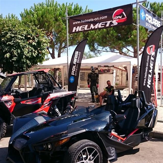 Preparations at Dhour ! Stay tuned... polarislebanon rzr atv adventure...