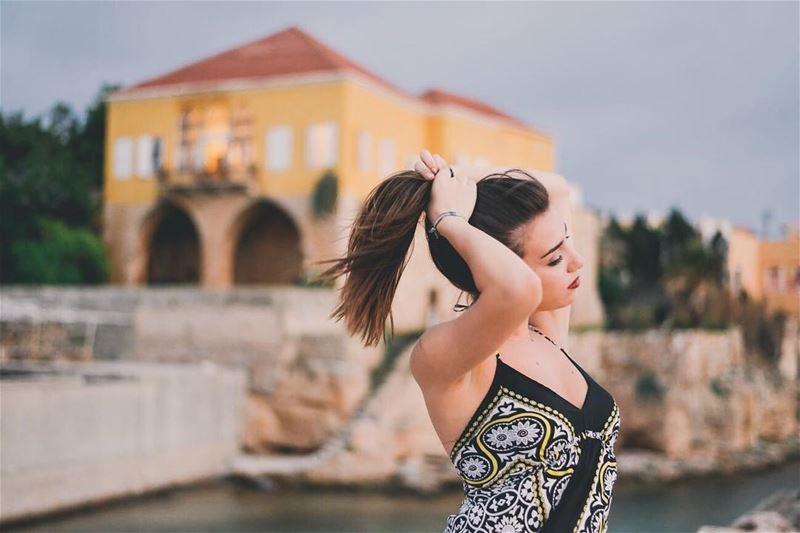Captivate- lebanon portrait photoshoot portraitphotogrpahy mood ... (Port Batroun)