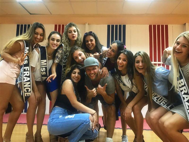 Mabrouk Miss Sweeden!❤️ misslebaneseemigrants2017 mtvlebanon ... (Hoops Club)