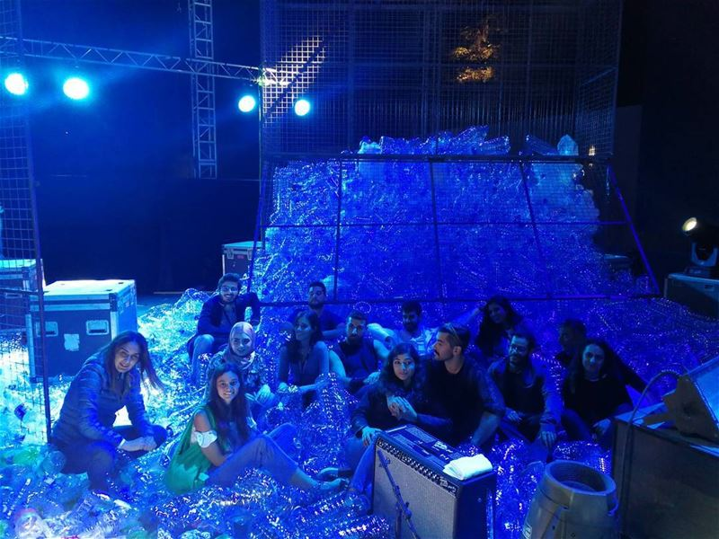 BalaPlastic! 1 out of 3 fish caught in Lebanon are found with plastic... (Ehdeniyat International Festival)