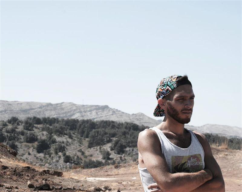 ME 🕴🏽.Taken by: @sounegram ...... summersun discoveringlebanon ... (Arz Tannoûrîne)