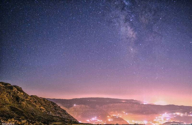 "• "" Look at these stars, they are all decorating our sky! Space is big... (Akoura, Mont-Liban, Lebanon)"