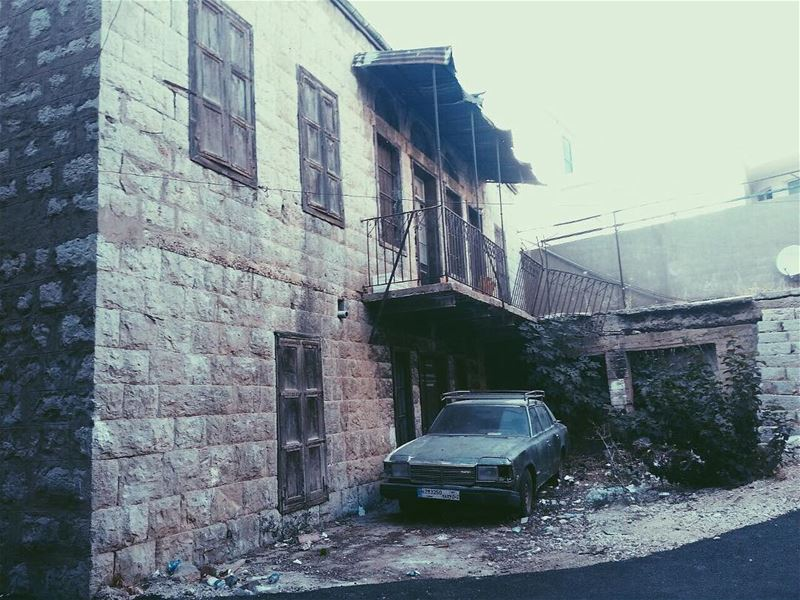 Just because it's not useful anymore doesn't mean it's not still beautiful... (Saghbîne, Béqaa, Lebanon)
