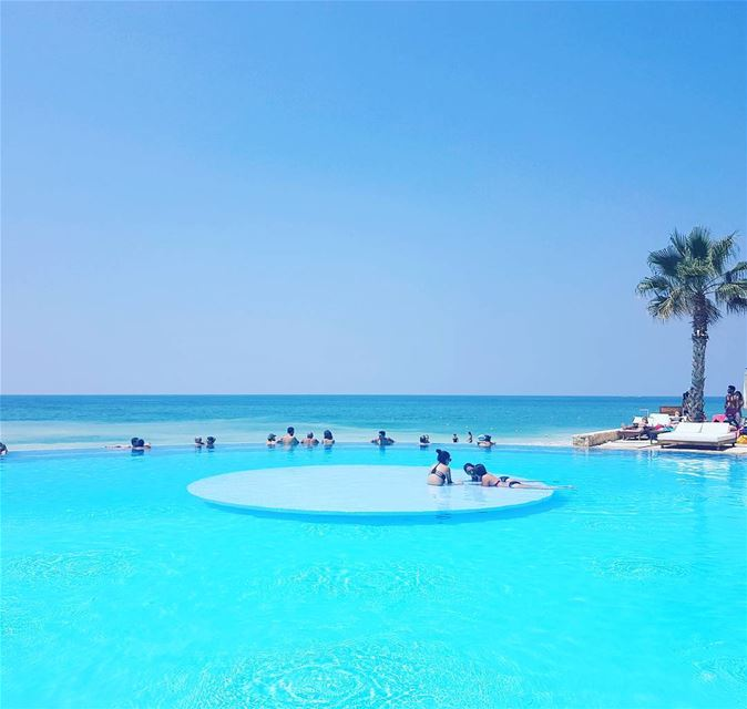 From ecolodges to infinite pools toward the Mediterranean sea. Lebanon has... (Rai Beach Resort)