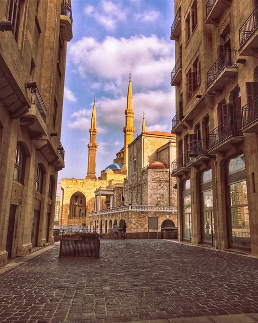 The Watcher's Monuments...... churches mosque reflections ... (Downtown Beirut)