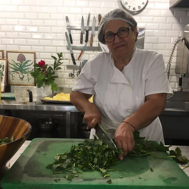 Good Morning from Tawlet Beirut!!! Our cook today is Laure Ghoson....