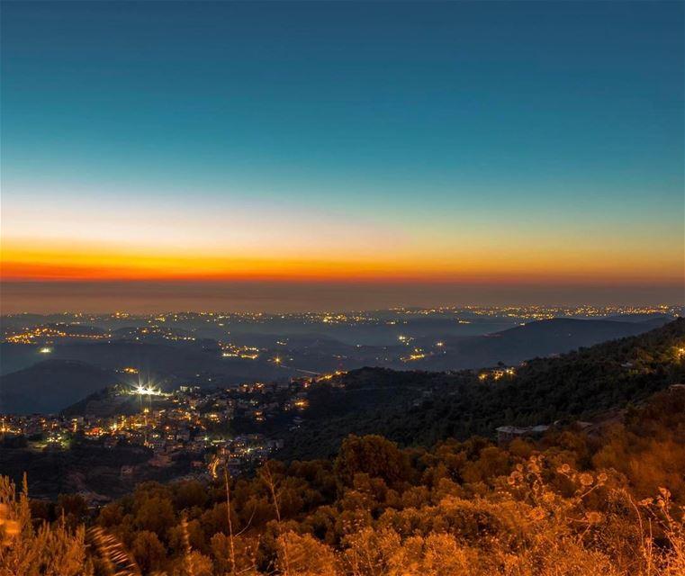 Sunset southern lebanon twilight landscape nature lebanon_hdr... (Jarjou`, Al Janub, Lebanon)