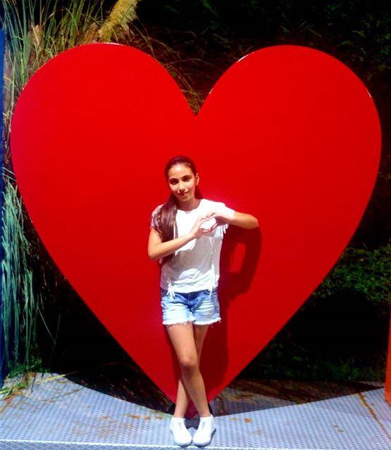 like4like likeforlike livelovelebanon heart daughter red instagoods...