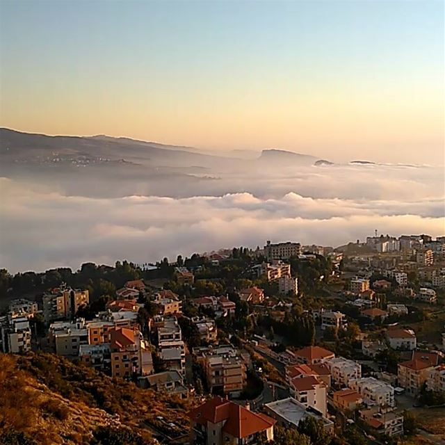 ehdenadventures sunset madeinehden fog liveloveehden bestplace ... (Ehden Adventures)