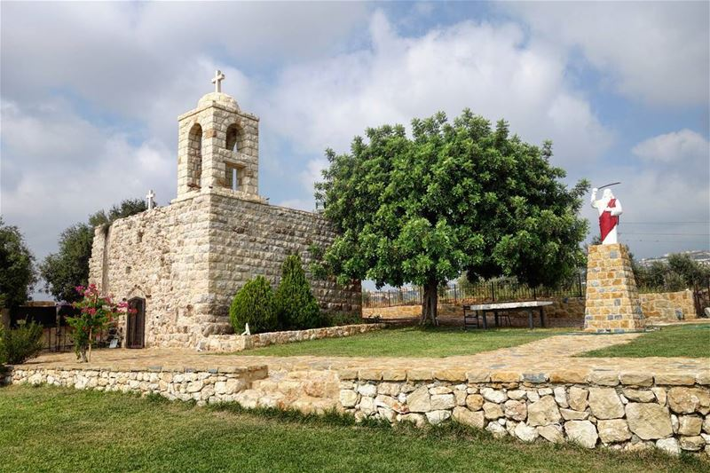 "⛪🌳 ""Since love grows within you, so beauty grows. For love is the beauty... (Byblos, Lebanon)"