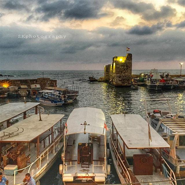 Wonderful evening ✨👌🏻 • insta_lebanon ig_lebanon lebanon_pictures ... (Byblos - Jbeil)