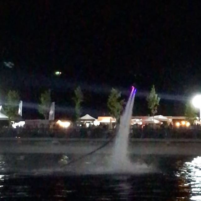 Nothing can dim the light that shines from within  flyboard ... (Zaarour Club)